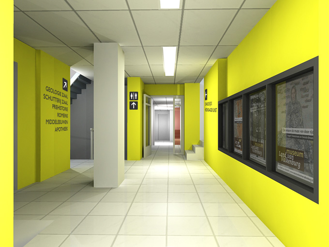 color wayfinding in corporate environments human