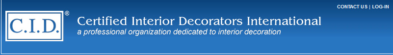 Certified interior decorators cid human response and interior design for Interior decorator certification online